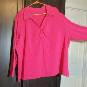 Pink Fashion Bug blouse